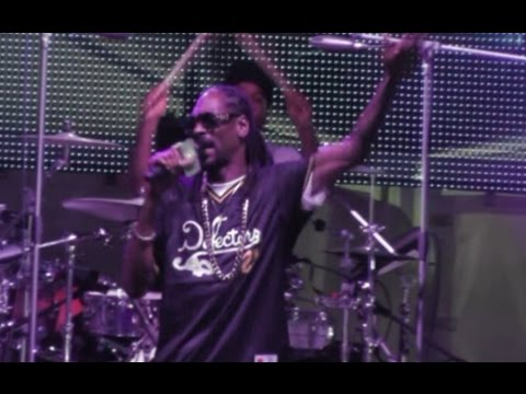 Napoli - Snoop Dogg in concerto all'Arenile (28.07.15)
