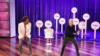 Ellen and Robin Roberts Ace for the Cure!