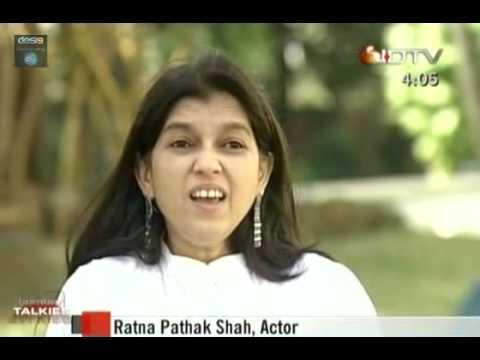Naseeruddin shah and ratna pathak shah in conversation 1/3