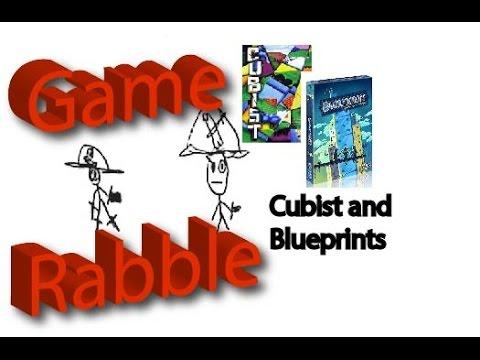 Blueprints and Cubist Comparison