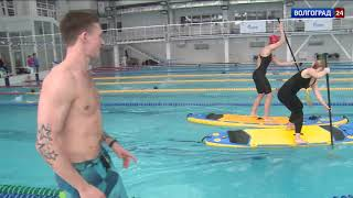 В Волгограде набирает популярность сапсерфинг