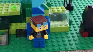 Lego DanTDM/The Diamond Minecart hardcore!