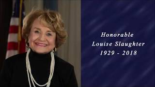 Rep. Louise Slaughter: A Champion for the American Worker