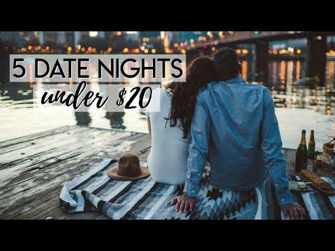 5 DATE NIGHT IDEAS UNDER $20 | CHEAP DATE NIGHTS | Makinze