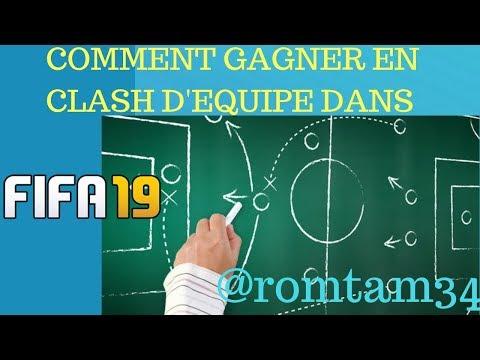 FIFA19: GAGNER EN CLASH D'EQUIPE