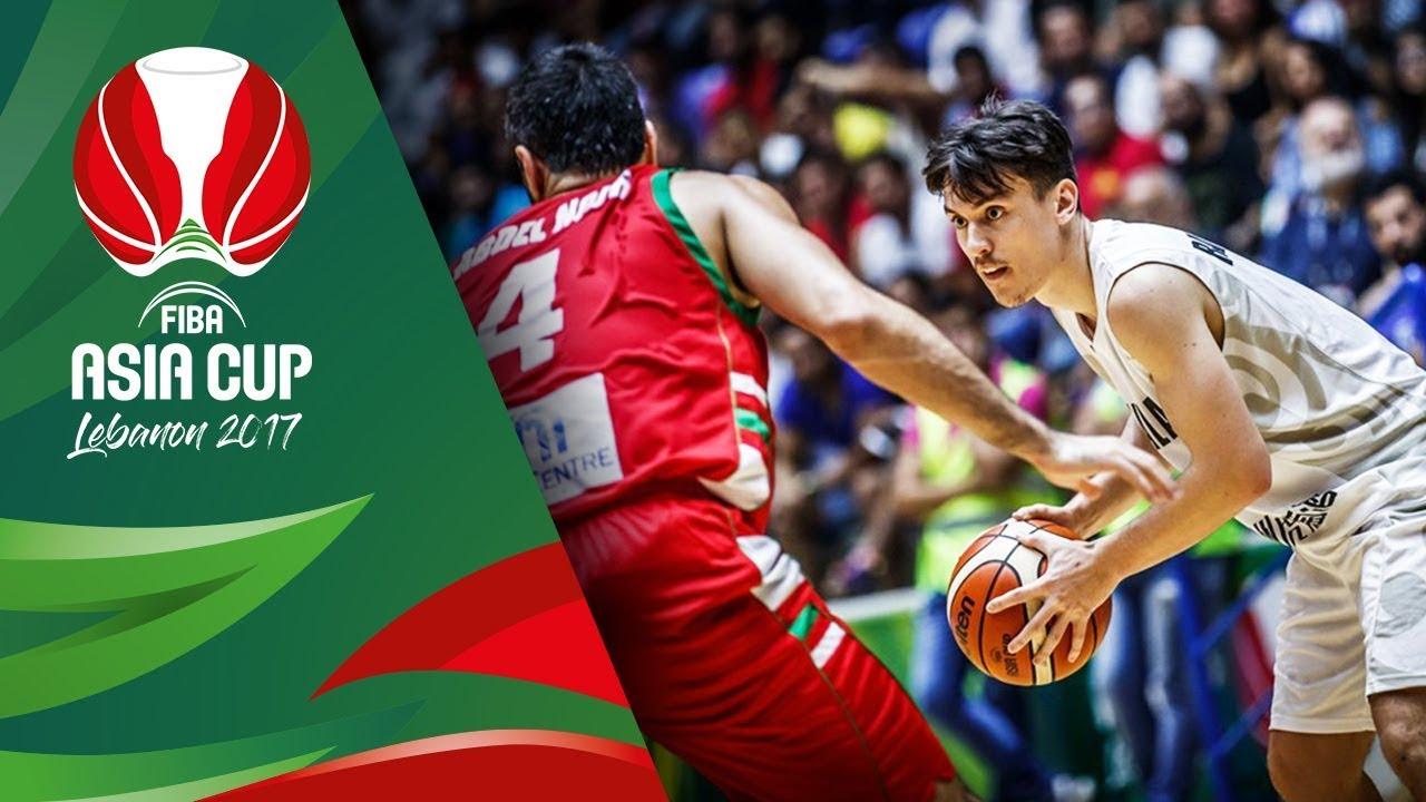 New Zealand v Lebanon - Full Game - FIBA Asia Cup 2017