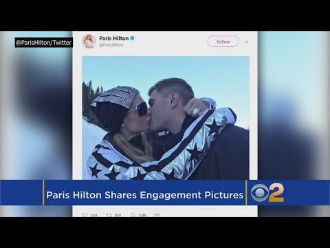 Paris Hilton Shares Engagement Pictures