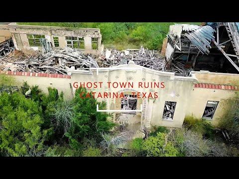 Exploring Remains of Ghost Town at Catarina, Texas