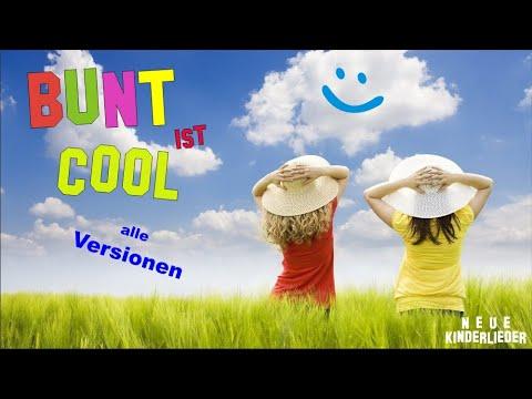 Farbenlied (Toleranzlied) Alle Musik-Versionen ♪ Grundschule- Musik für ein buntes Miteinander- BUNT