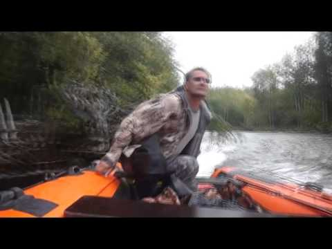 SOLAR - Amazing Inflatable Motorboats from Russia special for mountain river fishing !