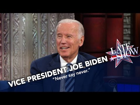 VP Joe Biden On Running In 2020: Never Say Never