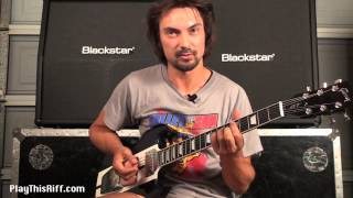 "TRUCKFIGHTERS guitar lesson for PlayThisRiff.com. ""Desert Cruiser"" (Part 1)"