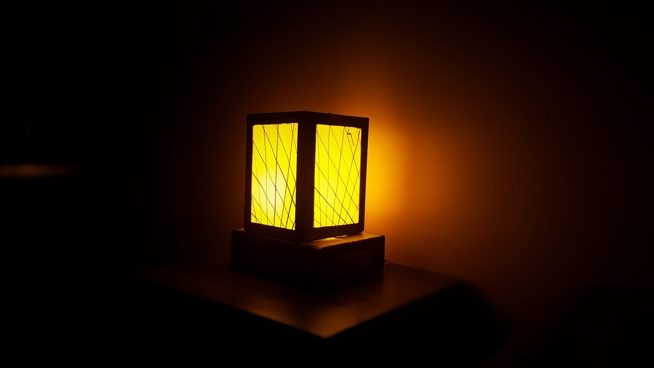 How to make night lamp - YouTube for Night Lamp Photography  67qdu