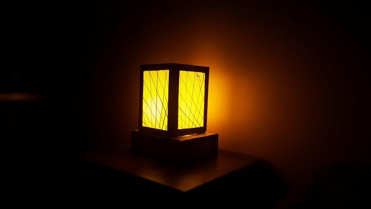 How To Make Night Lamp