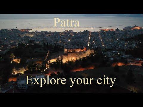 Above - Patras Project 2020 - Explore your city 4K #patra