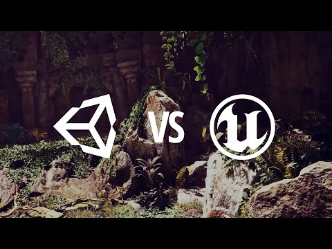 Unreal vs Unity: Clash of Titans