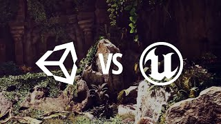 unity 5 vs unreal engine 4 graphics