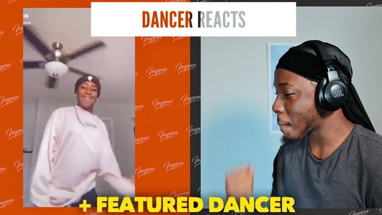 Dancer Reacts To Jalaiah Harmon TIKTOK COMPILATION