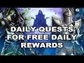 Might and Magic Heroes Online - Daily Quests for Free Daily Rewards