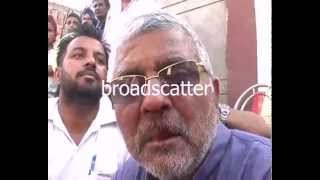 Akali Supporters Attack Patiala AAP Candidate Dr Dharamvir Gandhi Attacked