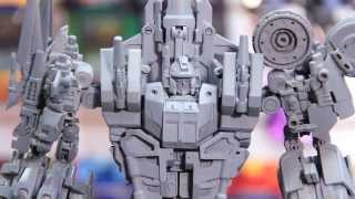 fansproject and maketoys prototype at tfcon 2013 a3u review season 2 ep 5