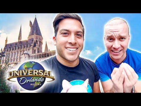 Fui al mundo de HARRY POTTER con Oscar Alejandro! 😃 | Alex Tienda ✈️