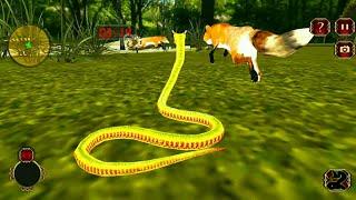 Snack Simulator Anaconda Attack Game 3D