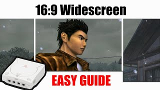 Tutorial: Add 16:9 Wideṡcreen Save File for more than 100 Dreamcast Games (GDEMU & Game Discs) + Hex