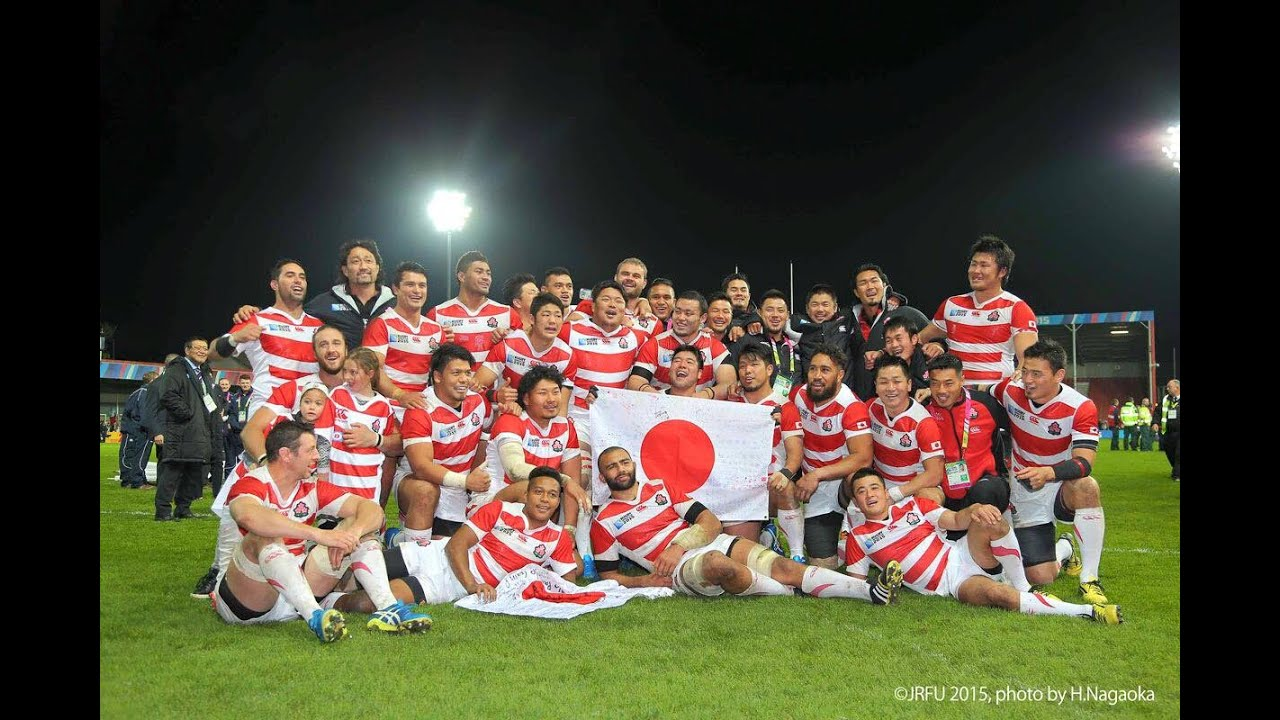 ラグビー日本代表 ラグビーワールドカップ2015 帰国記者会見