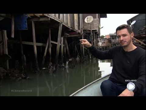 Facção criminosa domina favela de palafitas em Santos