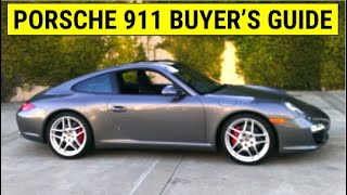 which 911 should you buy 996 vs 997 vs 991 porsche buyer s guide part 1