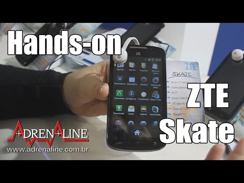 Hands-on do ZTE Skate
