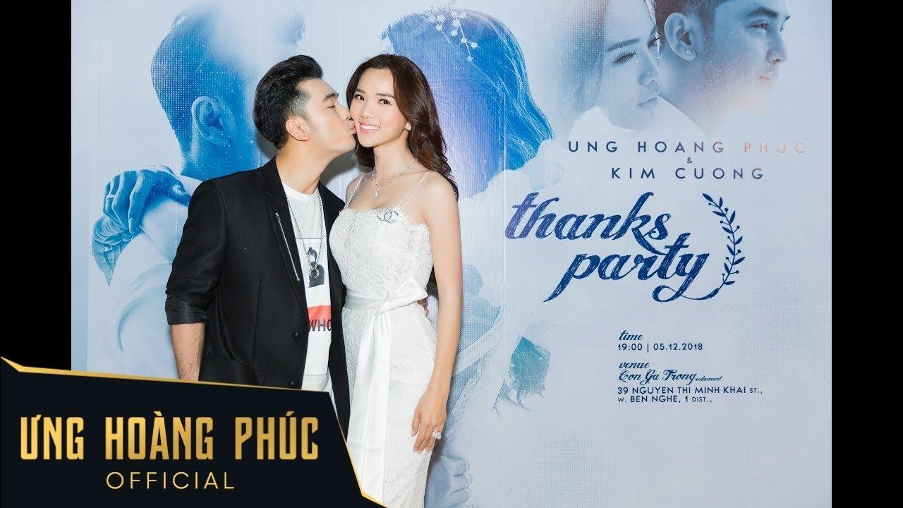 [Livestream] Thanks Party | Ưng Hoàng Phúc & Kim Cương
