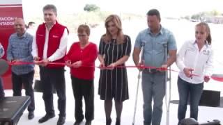 Gobernadora inaugura carreteras rehabilitadas en el Valle de Empalme