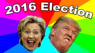 The best memes of the 2016 U.S. Presidential Election - Donald Trump And Hillary Clinton by Behind The Meme
