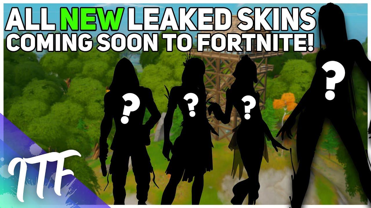 All NEW Leaked Skins Coming Soon to Fortnite! [v13.40] (Fortnite Battle Royale)