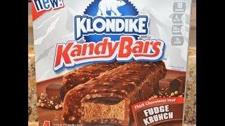 Klondike Kandy Bars: Fudge Krunch Ice Cream Review