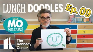 LUNCH DOODLES with Mo Willems! Episode 09