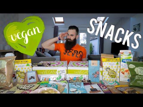 The Ultimate Vegan Snack Box Challenge | BeardMeatsFood