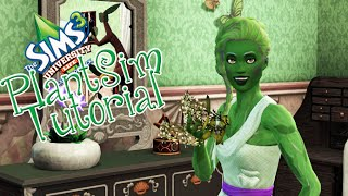 Sims 3 Tutorial: How to become a Plantsim in Sims 3