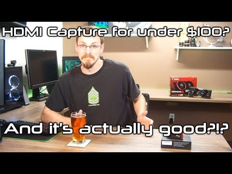 AGPtEK HDMI Capture over USB at 1080p 60FPS. For only $90?!?