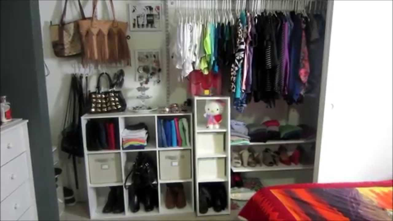 Closet tour actualizado ideas de decoracion y for Ideas para closets pequenos
