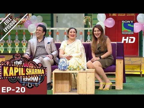 The Kapil Sharma Show - दी कपिल शर्मा शो–Episode 20-Govinda in Kapil's Mohalla–26th June 2016