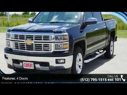 Covert Chevrolet Hutto >> 2015 Chevrolet Silverado 1500 LTZ - Covert Ford Chevrolet ...