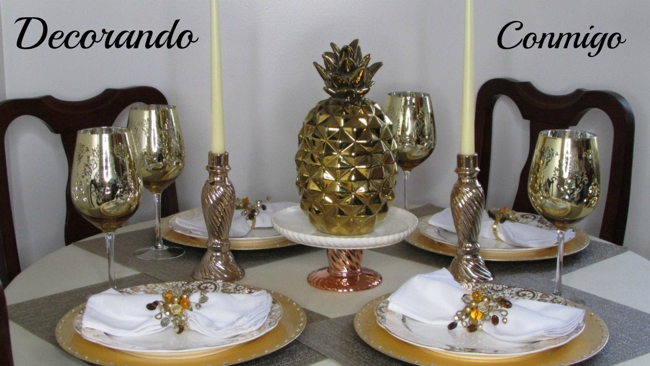 Como decorar un comedor excellent mesas de cristal for Ideas para decorar un comedor
