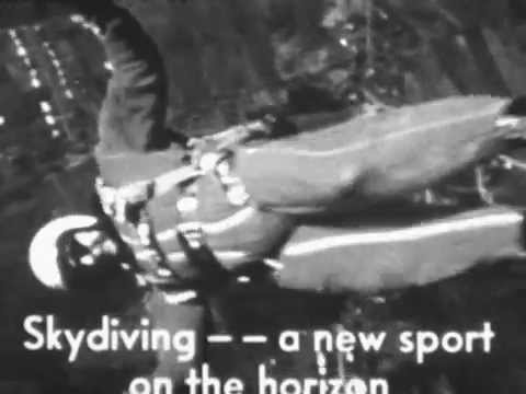 First Sky Diving Film Ever Recorded - Photography by Owen M. Curran