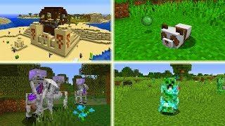 Mega RZADKIE Rzeczy w Minecraft! Połączone Struktury! Szkieletowa Pułapka!