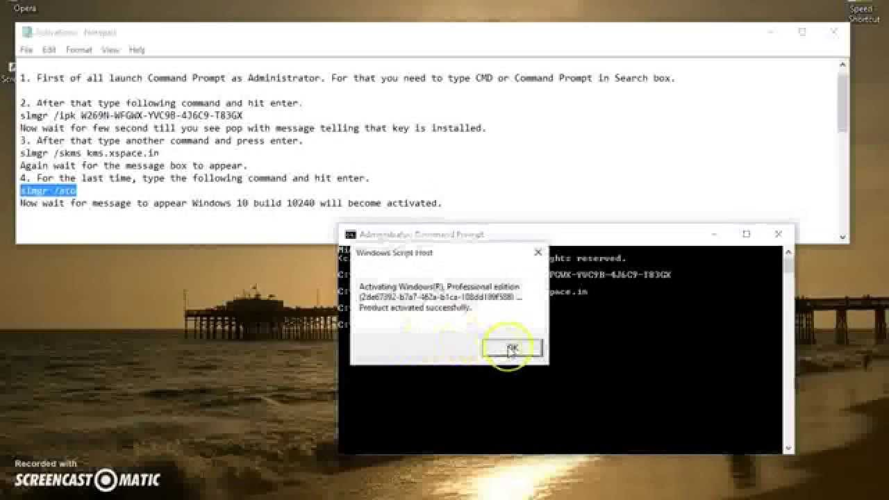 how to change windows 7 product key through cmd