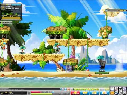 Maplestory Theme Dungeon Gold Beach Part 1 and Tot\'s Know How ...