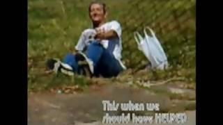 Besoffener Mann fliegt hin und reißt Zaun um [ausnüchtern.com]